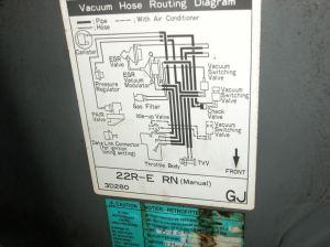 22re vacuum hoses help!  YotaTech Forums