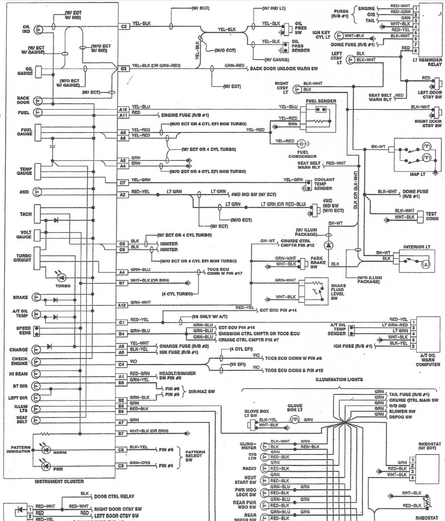 1985 Chevy Truck Fuse Box Diagram
