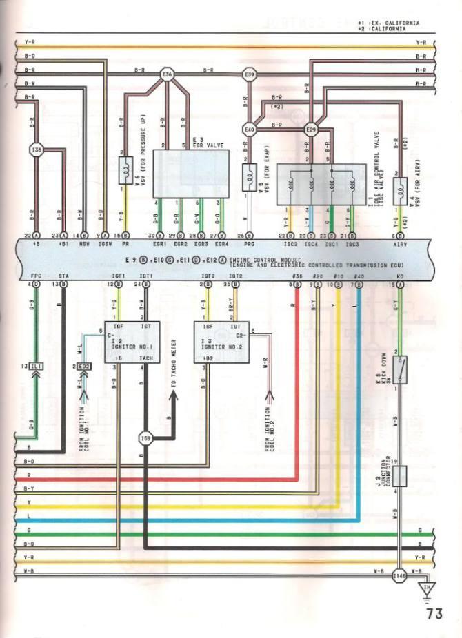 lexus ls400 transmission wiring diagram  description wiring