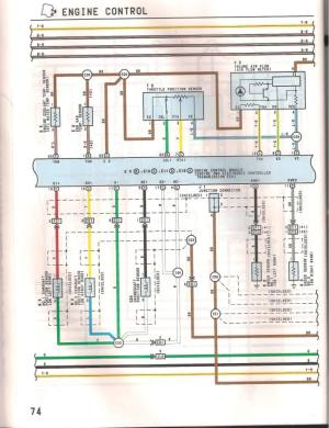 1993 LS400 1UZFE wiring diagram  YotaTech Forums