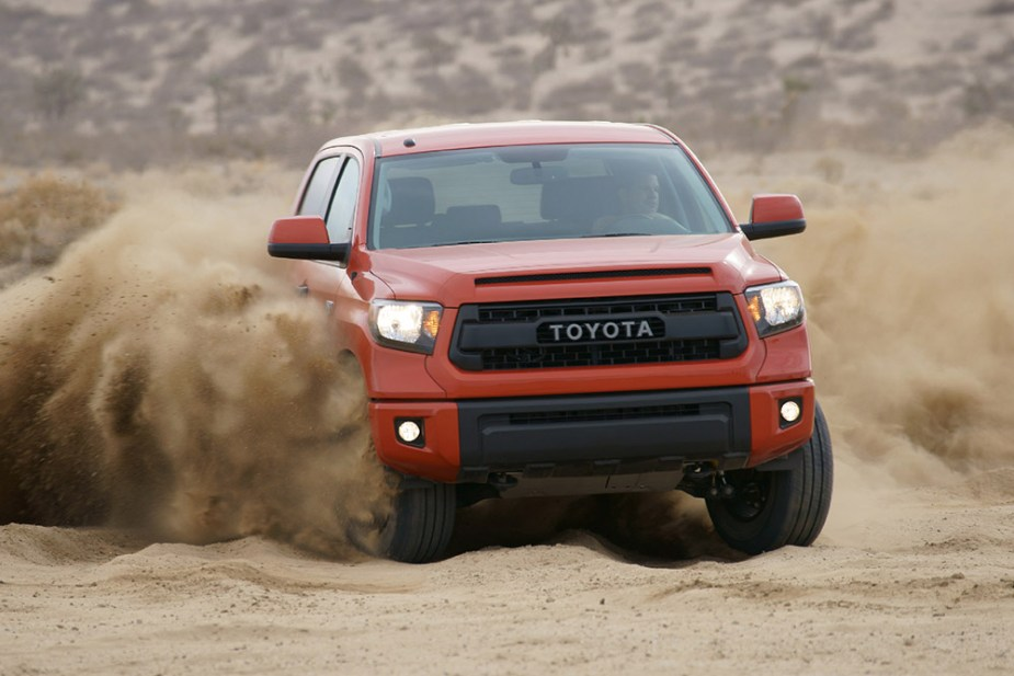 yotatech.com Toyota Tundra TRD Pro Better than Ford Raptor