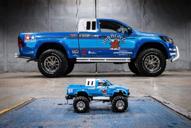 Both Toyota and tamiya's version of the Bruiser.