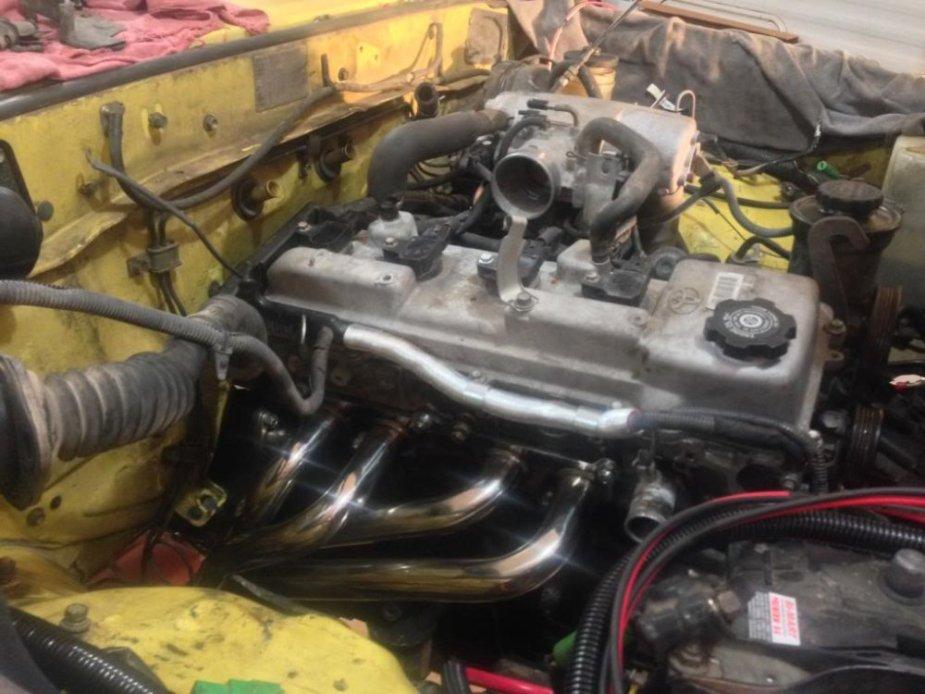 1981 Toyota 3RZ Engine