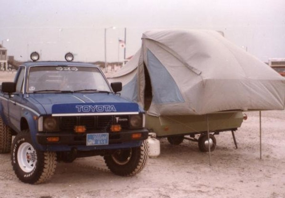 1981 Toyota with Camper