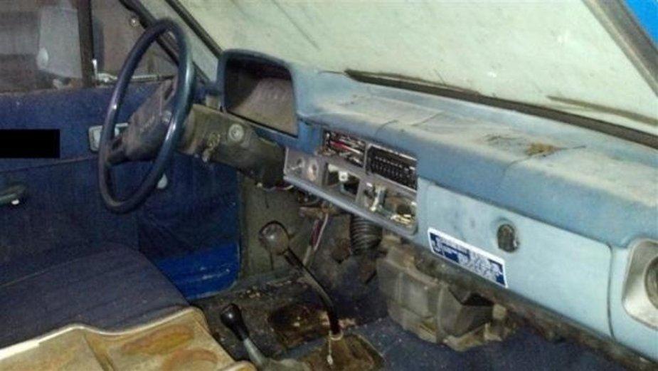 1981 Toyota Interior