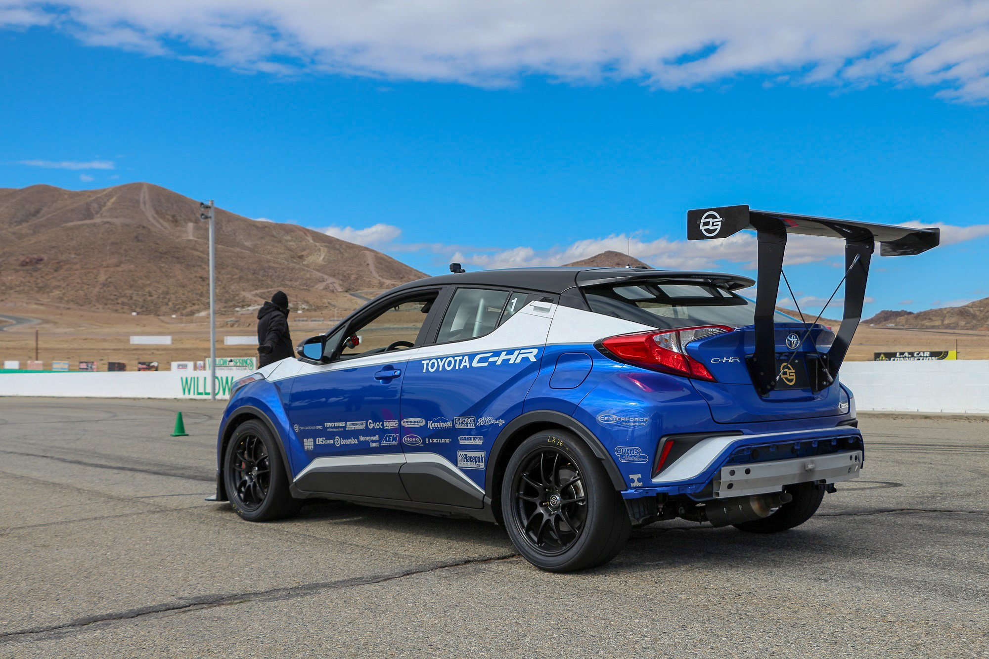 Yotatech.com Toyota C-HR R-Tuned Track Drive Test Review
