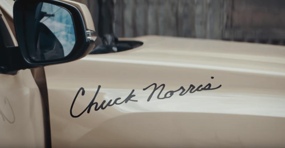 Chuck Norris Toyota Tacoma