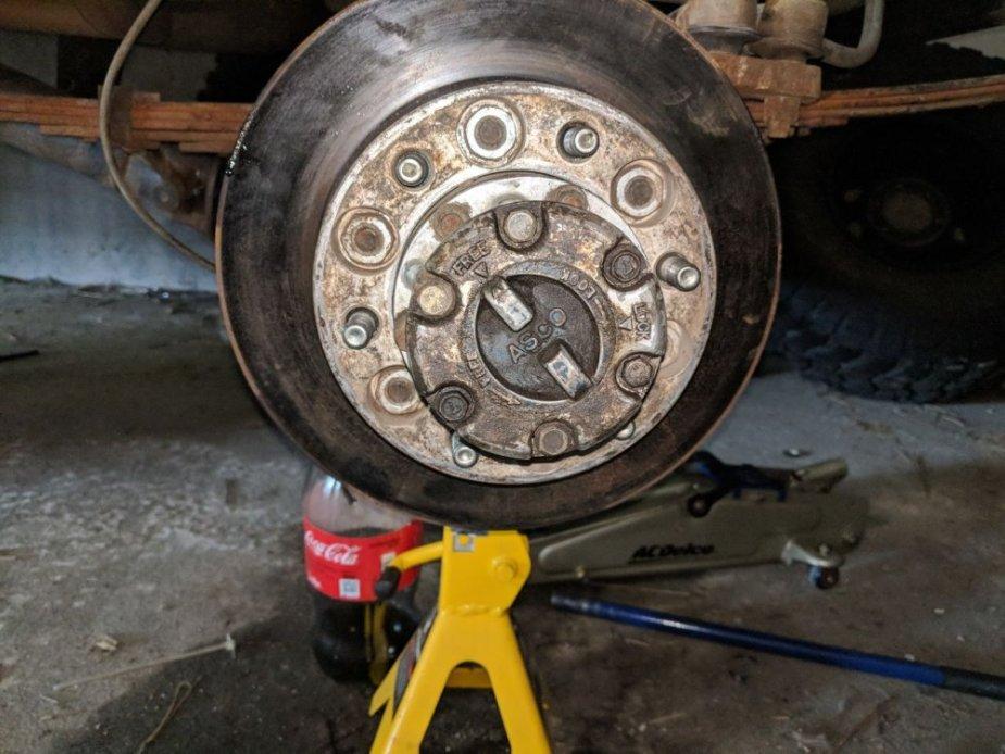 Mysterious Toyota Brake Rotor