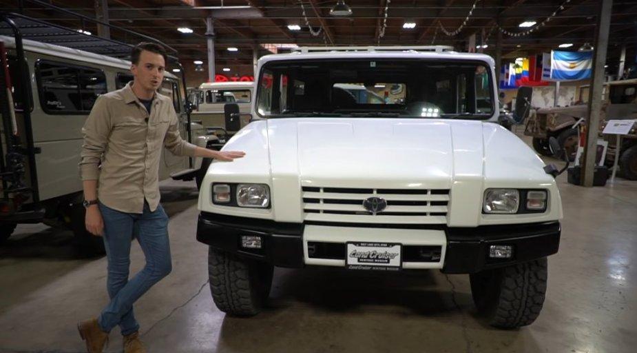 Toyota BXD20 Front