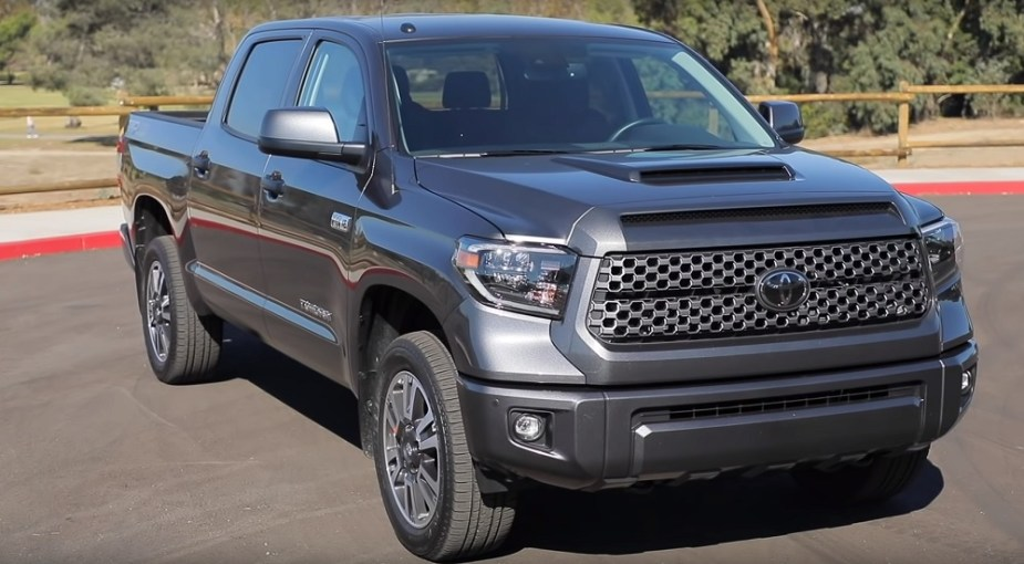 Up Close With The 2019 Toyota Tundra Trd Sport Yotatech