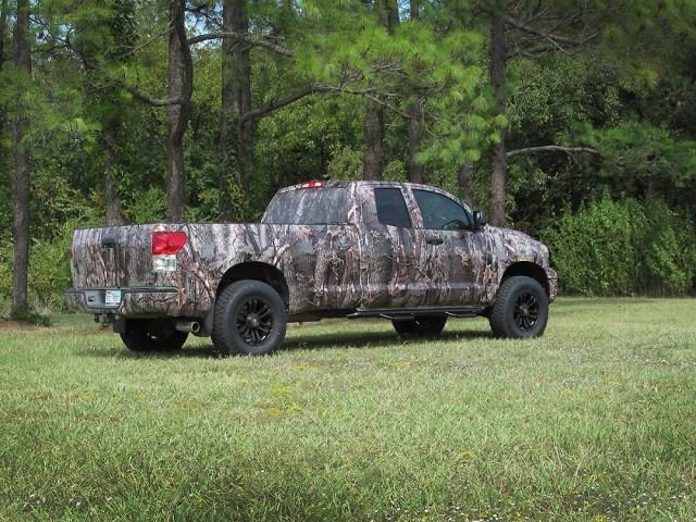 Camo Wrap Toyota Tundra