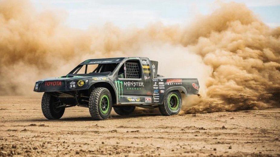 Deegan Toyota Race Truck