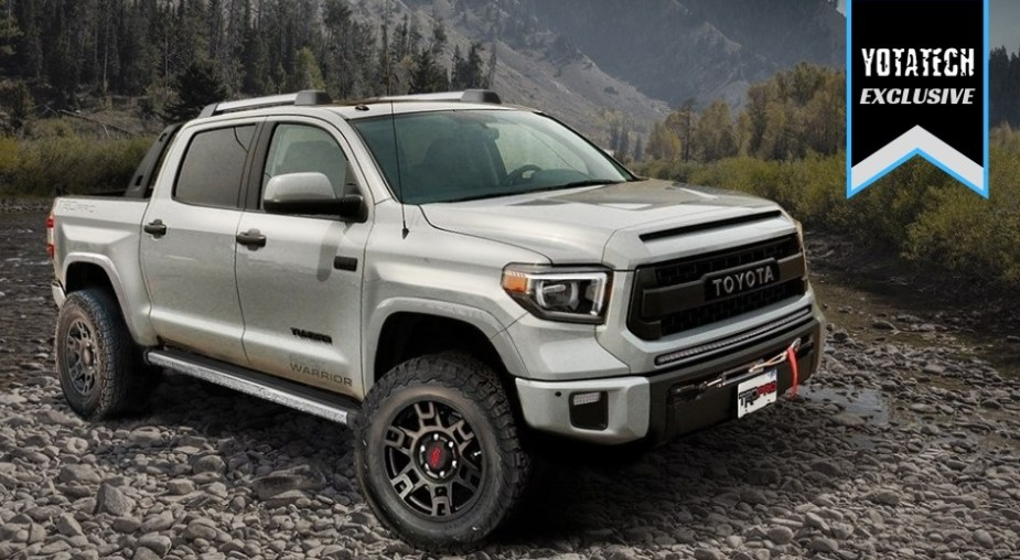 We Design Our Perfect Toyota Truck 2021 Toyota Tundra Rock Warrior