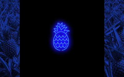 PineappleCITI's Debut Album 'NeonBLUE' Champions Manifestation