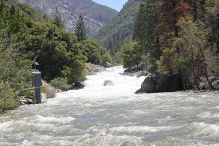 De krachtige Kings River