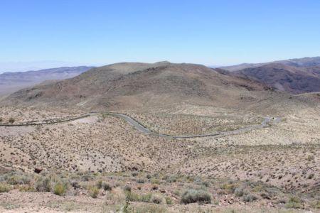 De weg naar Dante's View