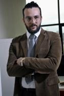 Gabriele Maltinti nel suo ufficio