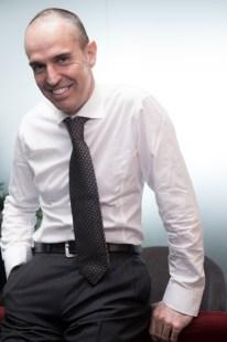 Stefano Calderoli nel suo ufficio