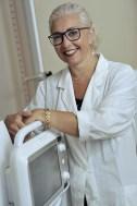 Giuse Maria Lamesa nello studio di radiologia