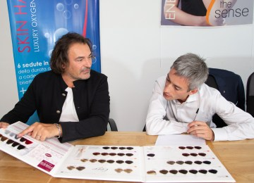 """Carlo Livraghi, The Sense: """"Natural products for strong and healthy hair. That's how you get the perfect look"""""""