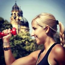 Munich fitness girl