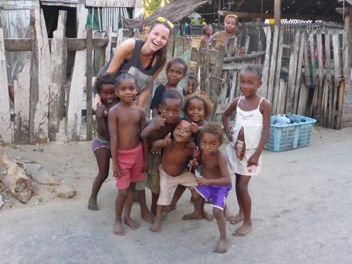 Madagascar kids native
