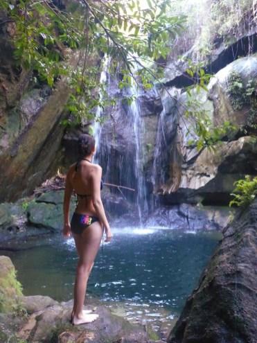 Madagascar Isalo waterfall