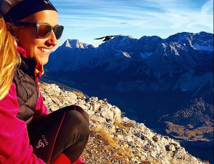 Zugspitze alps view