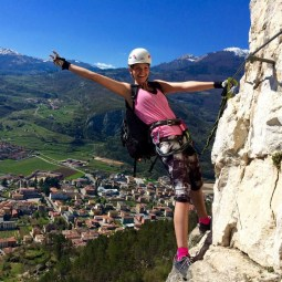 Via ferrata climbing Lake Garda