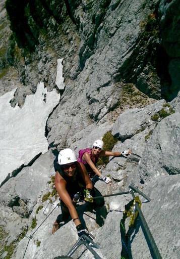 Via ferrata Hochthron Berchtesgaden