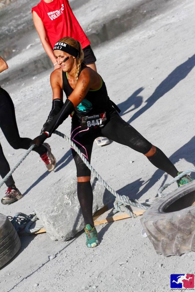 tire pull spartan race