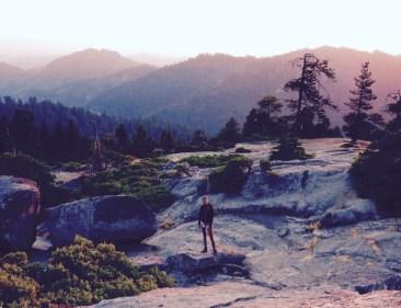 Sequoia Nationalpark sunset