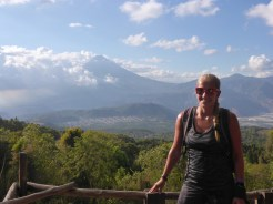 volcano picture lady