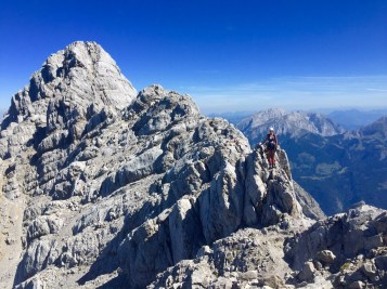 Watzmann crest mountain