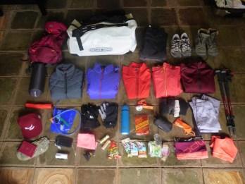 Gear essentials Kilimanjaro