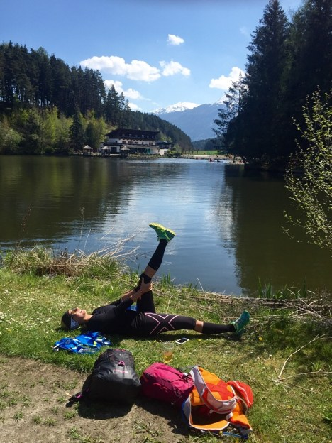 Stretching Trailrunning Cooldown