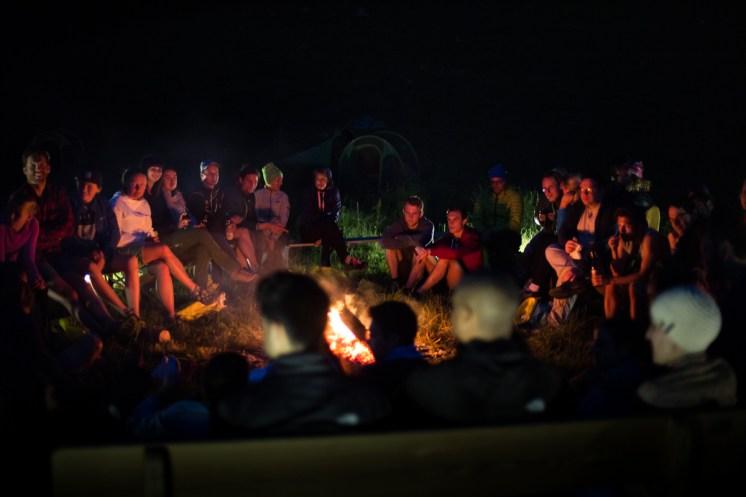 #neverstopmunich North Face Campfire