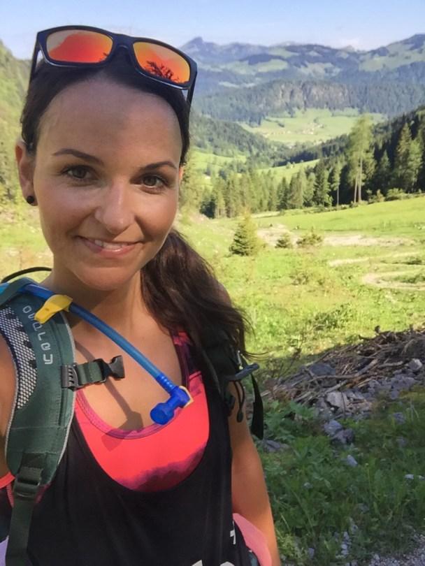 Hiking girl Munich