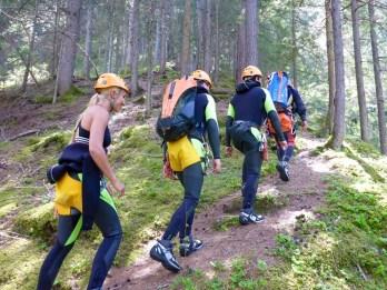 Wunzenschlucht hiking Mölltal