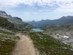 Path hiking running Hohe Tauern