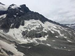 Großglockner mountain face