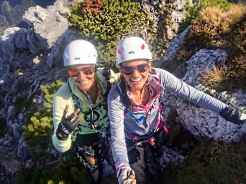 Klettersteig Frauen Piding