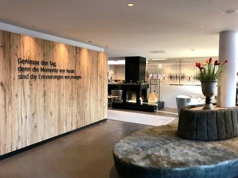 Naturhotel Forsthofgut lobby