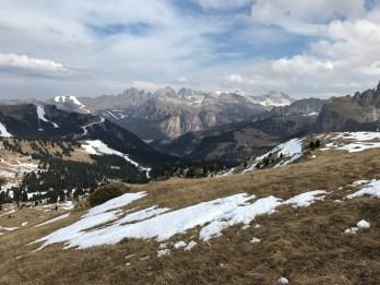 Val Gardena Gröden Panorama View