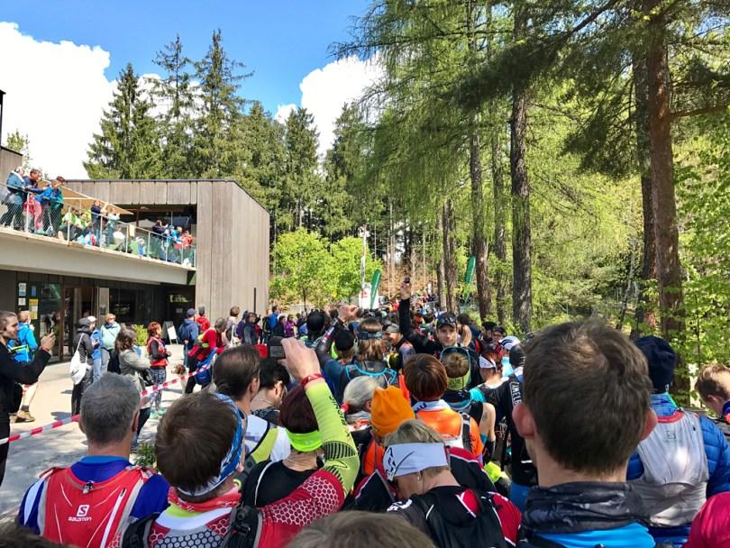 Marathontrail start Innsbruck Alpine Trailrun Festival 2017