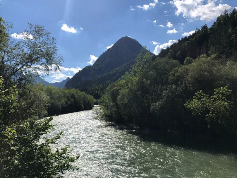 Enns Gesäuse river