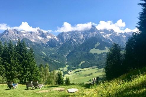 Panorama hochkönig beautiful
