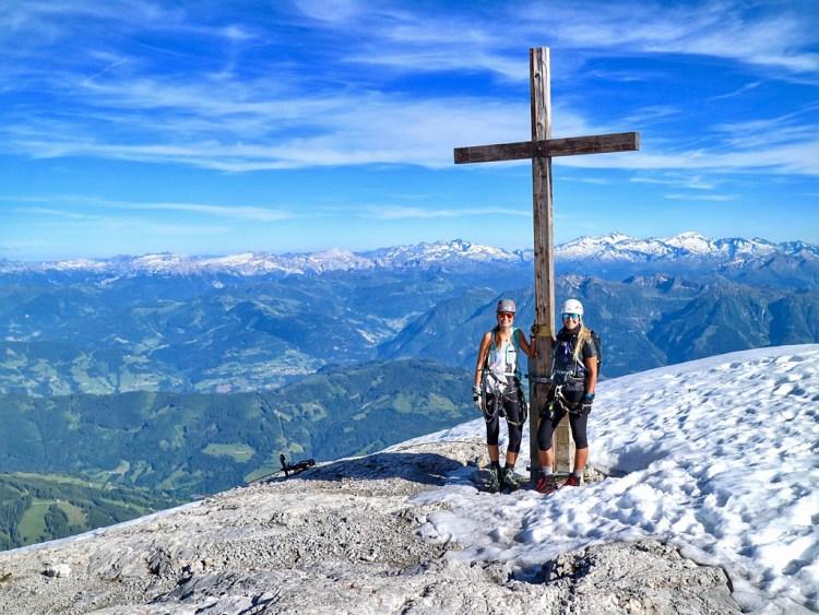 Gipfelkreuz Hochkönig Adventure Story