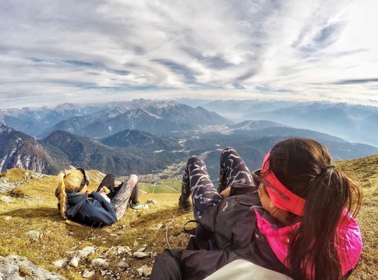 Leutasch Panorama Tyrol