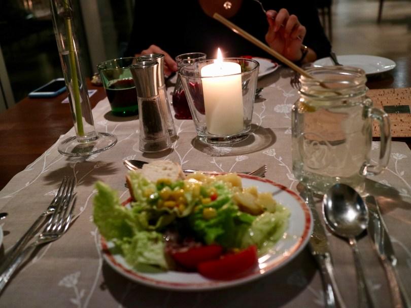 Abendessen Leutascherhof
